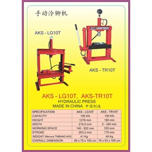 ALAT ALAT MESIN Multifunction Hydraulic Shop Press LG10T