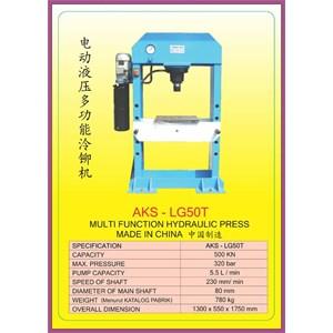 ALAT ALAT MESIN Multifunction Hydraulic Shop Press LG50T