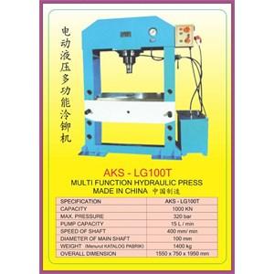 ALAT ALAT MESIN Multifunction Hydraulic Shop Press LG100T