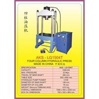 ALAT ALAT MESIN Four Collum Hydraulic Press LG1504T 1