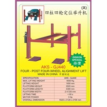 ALAT ALAT MESIN Two Post & Four Post Alighment Lift GJ440