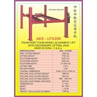 ALAT ALAT MESIN Two Post & Four Post Alighment Lift UT435R 1