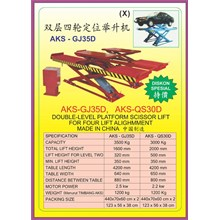 Alat alat mesin Platform Scissor Lift GJ35D