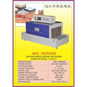 Mesin Thermal Shrink SDP2040