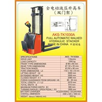 Alat Alat Mesin Hydraulic Stacker TK1030A 1