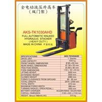 Alat Alat Mesin Hydraulic Stacker TK1030AHD 1