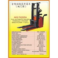 Alat Alat Mesin Hydraulic Stacker TK2025A