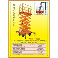 Lift High-Rised Lifting Platform TK056