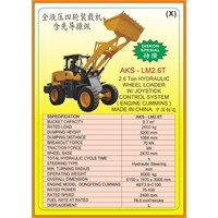 Wheel Loader LM2.6T