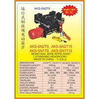 Jual Hoists SN2T9