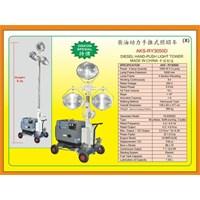 Alat Alat Mesin HandPush Light Tower RY3050D 1