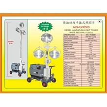 Alat Alat Mesin HandPush Light Tower RY3050D