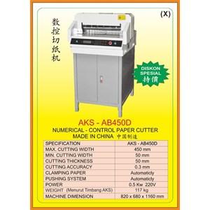 Alat Alat Mesin Paper Cutting Machine & Book Binding AB450D