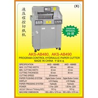 Alat Alat Mesin Paper Cutting Machine & Book Binding AB480 1