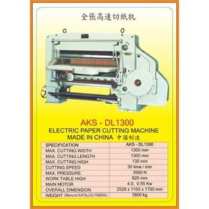 Alat Alat Mesin Paper Cutting Machine & Book Binding DL1300