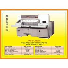 Alat Alat Mesin Paper Cutting Machine & Book Binding DL1300C