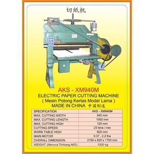 Alat Alat Mesin Paper Cutting Machine & Book Binding XM940M