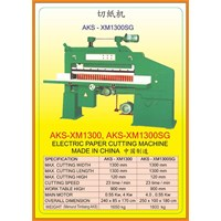 Alat Alat Mesin Paper Cutting Machine & Book Binding XM1300 1
