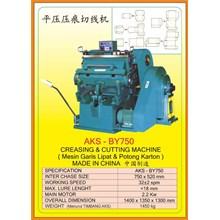 Mesin Pemotong Creasing & Cutting Machine BY750