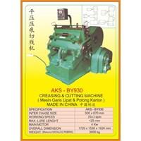 Mesin Pemotong Creasing & Cutting Machine BY930 1