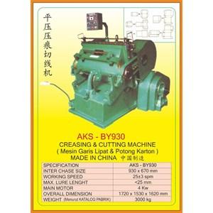 Mesin Pemotong Creasing & Cutting Machine BY930