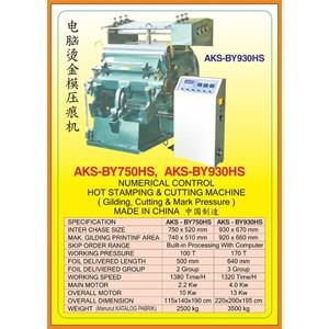 Mesin Pemotong Creasing & Cutting Machine BY930HS