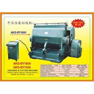 Mesin Pemotong Creasing & Cutting Machine BY1800