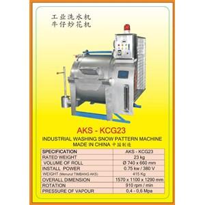 Alat Alat Mesin Industrial Washing Snow Pattern KCG23