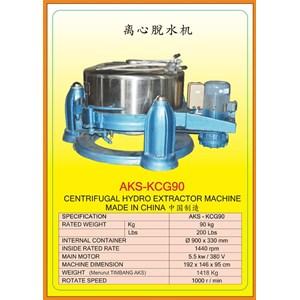 Alat Alat Mesin Centrifugal Hydro Extractor KCG90