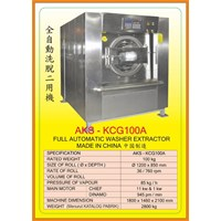 Alat Alat Mesin Washer Extractor Drying Machine KCG100A