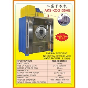 Alat Alat Mesin Washer Extractor Drying Machine KCG135HE