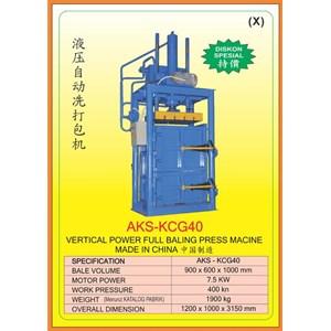 Mesin Press Vertical Baling Power press KCG40