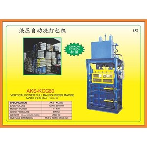 Mesin Press Vertical Baling Power press KCG60
