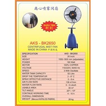 Alat Alat Mesin Centrifugal Mist Fan BK2650