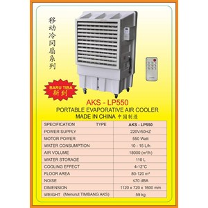 Alat Alat Mesin Portable Evaporative Air Cooler LP550