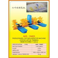 Alat Alat Mesin  Oxygen Paddlewheel Aerator YA603