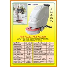 Alat Alat Mesin Walk Behing Scrubbing GZ53