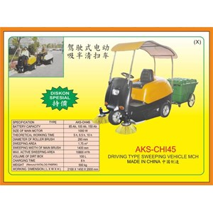 Alat Alat Mesin Walk Behing Lawnmower & Electric Sweeper CHI45