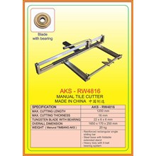 Mesin Pemotong Manual Tile Cutter RW4816