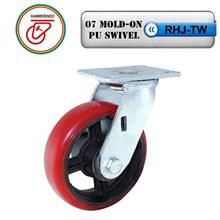 Roda Troli RHJ-TW 07 Mold-On PU Swivel