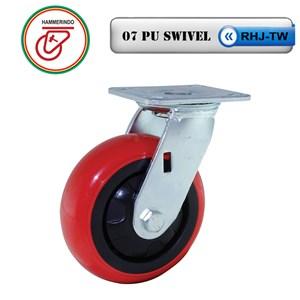 Dari Roda Troli RHJ-TW 07 PU Swivel 0