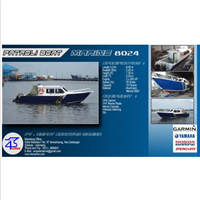 Speed Boat Patroli 8 Meter Aluminium 1