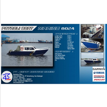Speed Boat Patroli 8 Meter Aluminium