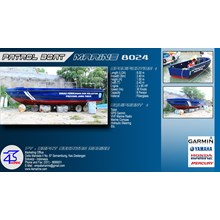 SPEED BOAT ANTI PENDANGKALAN 8 METER
