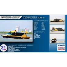 SPEED BOAT PATROLI IMIGRASI 10 METER