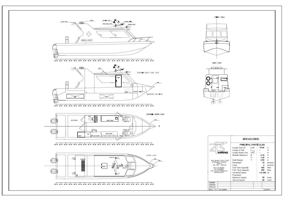 Sell ambulance ship is 10 m aluminium from indonesia by pt 4s sell ambulance ship is 10 m aluminium from indonesia by pt 4s marinecheap price ccuart Gallery