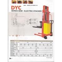 Jual Harga Stacker Semi Electric DYC  2020 Merk Dalton 0818681372  2