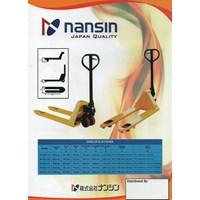 Jual Hand Pallet Merk Nansin 0818681372 2