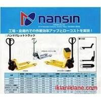 Jual Jual Hand Pallet Merk Nansin 0818681372