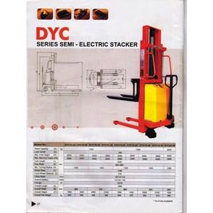 Stacker Semi Electric DYC 1534 @ 0818681372